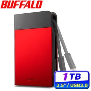 buffalo PZF 1TB 2TB HD-PZF1.0U3B 1T 2T 2.5吋軍規防震型動硬碟