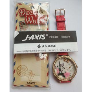 日本Deco Watch時裝《J-Axis手錶》Lamue巴黎鐵塔VIVI BL898-W