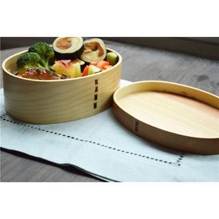 日式和風木質便當盒木質野餐盒木飯盒