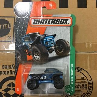 Matchbox 火柴盒 GHE-O PREDATOR 越野車