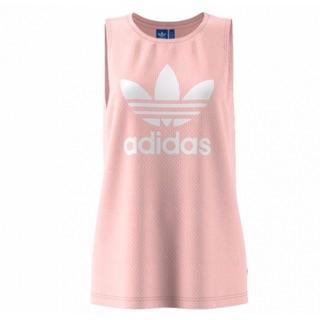 Adidas Originals 淡粉 長版背心 女