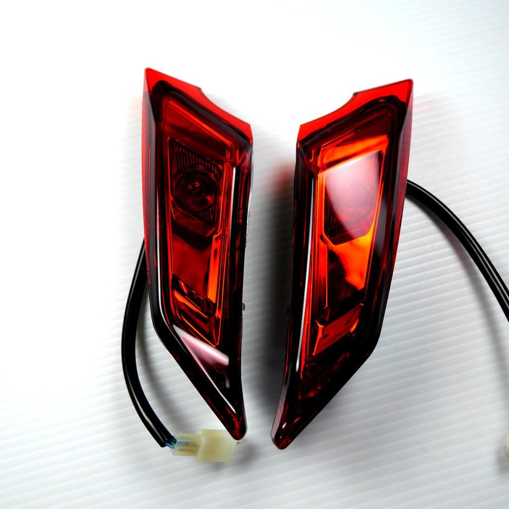 Q3機車精品 一菁 E-GIN 前方向燈組 前方向燈殼 前方向燈 方向燈 光陽 雷霆S 雷霆 S 歐規紅 紅光