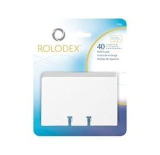 美國ROLODEX 旋轉式名片架專用補充內頁(40張入)67691
