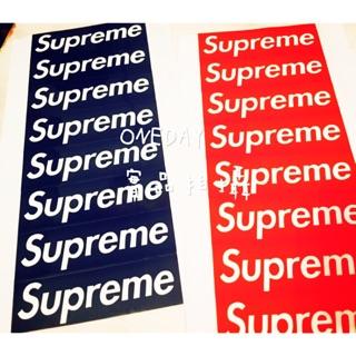 現貨✨8張特價29元 Supreme pvc貼紙 行李箱貼紙
