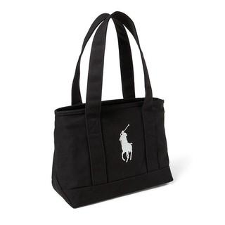 免運 預購款 Polo Ralphlauren 大馬圖案 帆布 小手提包 帆布手提袋
