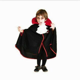 二手 萬聖節服裝 吸血鬼服裝 吸血鬼披風