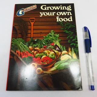 【RENEWBOOKS綠鈕二手書店】<Growing your own food 自己動手種植蔬果 (原文書)>