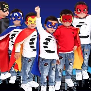 兒童披風 萬聖節裝扮必備~英雄聯盟 超人 蝙蝠俠 冰雪奇緣