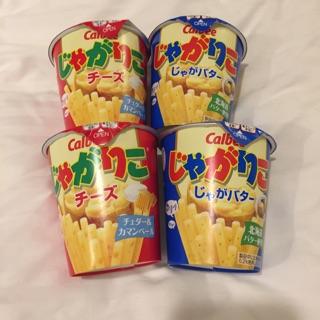 Ahri shop日本Calbee 薯條 北海道奶油洋芋、起司洋芋