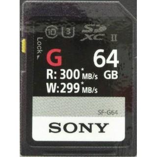 Sony SDXC 64GB SF-G64 UHS-Ⅱ 高速存取記憶卡~特價中