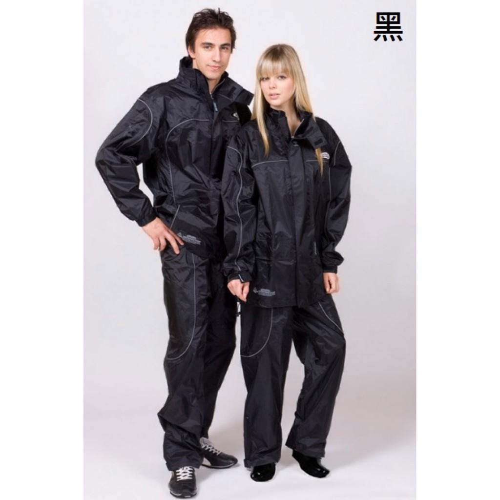 天龍牌 新重裝上陣 F1 機車型 二件式 風雨衣 - 黑