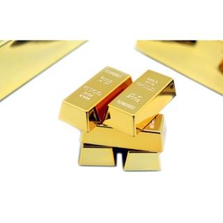 『肥仔小窩』~~我是土豪金~~ 之 金條 黃金 金塊 造型 冰箱貼 金磚 磁鐵 冰箱貼 紙鎮 A009