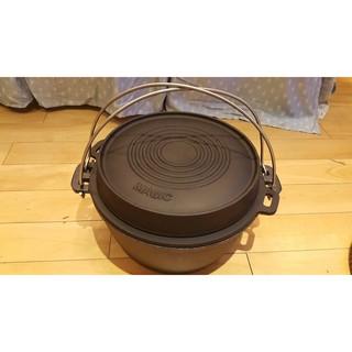 福利品!!Magic美極客 RV-IRON555 12吋三件組頂級萬能荷蘭鍋組(不含鑄鐵鍋蓋組) 可加購松木保溫鍋蓋