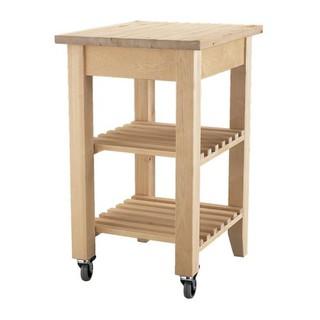 IKEA樺木廚房推車