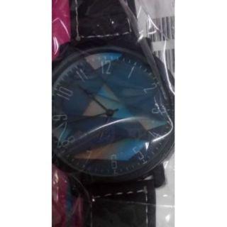 幾何黑帶手錶