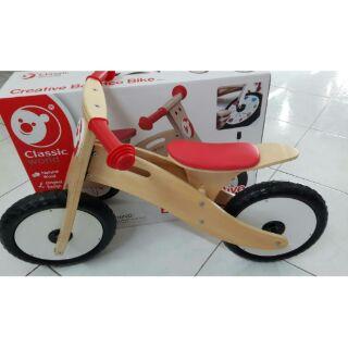 木製滑步車