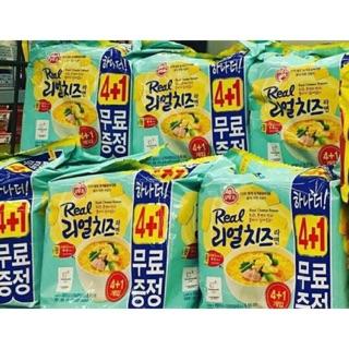 韓國 限定 Real Cheese 起士泡麵 起士 韓國泡麵 韓國起士拉麵 可單售 一袋5入 泡麵