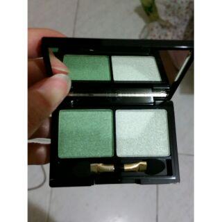 妍霓絲 時尚雙色眼彩盤 E2 慕斯綠色