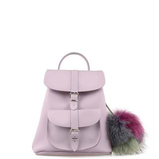GRAFEA VALERIE-Lilac Leather Rucksack 英國直送 現貨在台 真皮兔子耳朵雙肩包