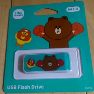 Line friends USB 隨身碟/64GB