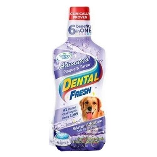 美國Dental Fresh《犬用-潔牙液(加強版)》8oz-『WANG』
