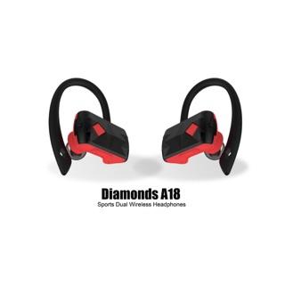 現貨HYD A18藍芽耳機雙耳耳掛式TWS藍芽無線運動耳機 CSR方案4.2藍芽