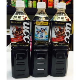 現貨 日本 UCC職人咖啡飲料-無糖 930毫升