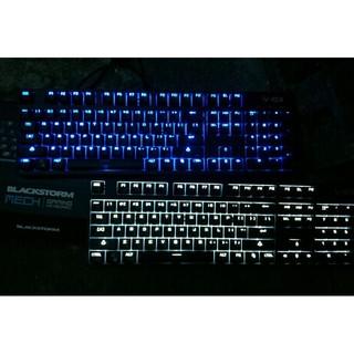 [現貨/送注音貼/超商取貨/青軸] 104鍵 藍光/白光/混光 凱華軸 電競機械鍵盤