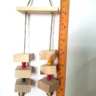 鸚鵡玩具 鳥玩具 中型及中大型鸚鵡玩具 鈴鐺 原木玩具 啃咬玩具 寵物玩具