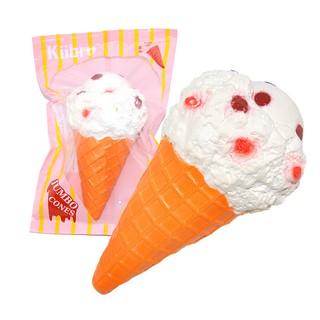 慢回彈 -- 帶香味的雪糕大甜筒  Cone Squishy Ice Crea