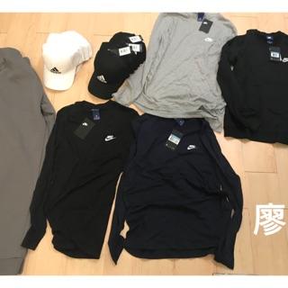 Nike長袖灰m
