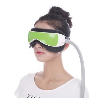 氣壓眼部按摩器 六大功能眼部按摩儀 【送有線耳機】 熱敷護眼防止近視 擠壓穴位放鬆黑眼圈