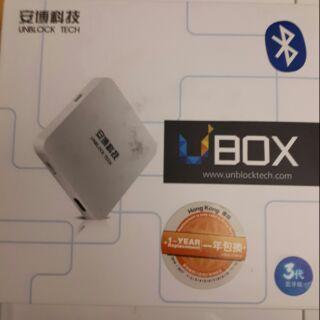 安博盒子3代藍芽版(託售)
