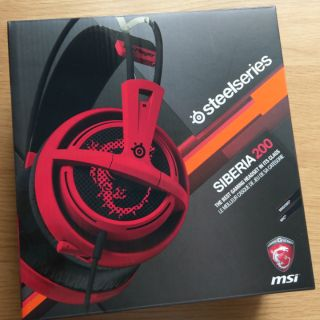Steelseries siberia 200 msi 西伯利亞
