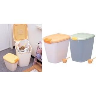 #限宅配#IRIS防潮箱密封桶除濕飼料桶保鮮桶MFS-10(10kg),免擠寵物展700元