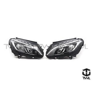 全新BENZ賓士W205 C200 C300 C400 LED大燈頭燈組(實裝車照)