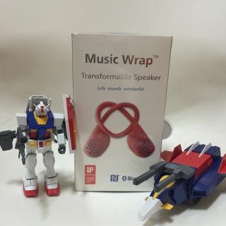 現貨~Music Wrap 藍芽可攜式喇叭 NFC~旅遊/運動/休閒/約會/看書都很適合~藍芽喇叭/藍芽耳機