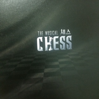 [週邊] 音樂劇 CHESS 正版 週邊 場刊 B1A4 CNU VIXX KEN SHINee KEY 2AM 趙權