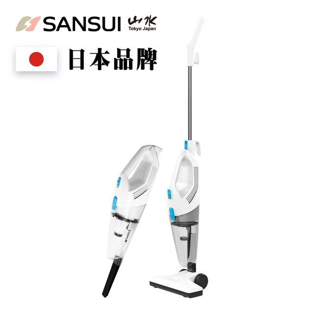 SANSUI日本山水 手持直立式 2合1兩用 吸塵器 SVC-W7 除塵 吸塵器 公司貨 現貨 分期 零利率