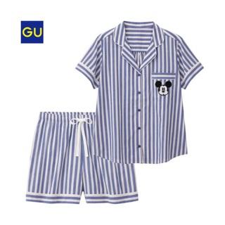 日本 GU聯名 迪士尼 米奇 家居服 睡衣