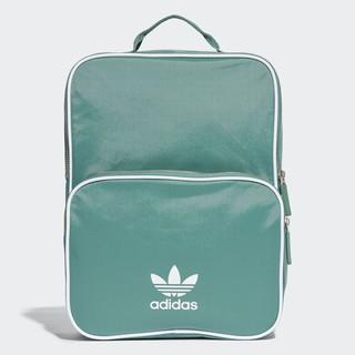 Adidas 三葉草經典休閒背包 Mini 方形綠色背包 蒂芬妮綠後背包 愛迪達小型後背書包 cw0623