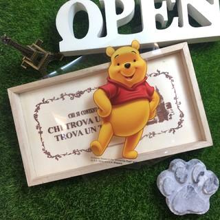 Megiの小舖 迪士尼 【防水貼紙】維尼 小熊 玻璃 浴室 牆壁 行李箱貼紙