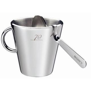 SONY 70週年紀念不鏽鋼隔熱咖啡杯組