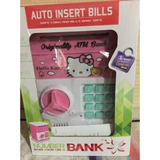 (出清現貨供應)卡通存錢筒 自動存款機 捲紙機 密碼存錢筒