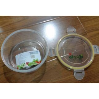 圓形保鮮盒/PP/矽膠