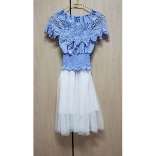 兩件式蕾絲洋裝