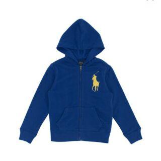 Polo Ralph Lauren 男童連帽外套 藍/深藍 S -XL. [Costco代購/宅配含運] 790190