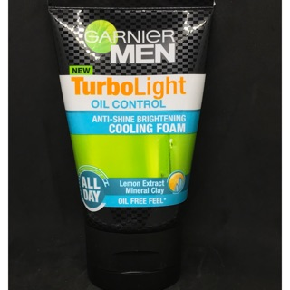 泰國進口 卡尼爾 Garnier Men Turbo Light Cooling Foam