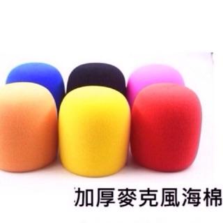 加厚海綿套可用於 M8七彩霓虹燈復古Disco造型麥克風 海綿套 海綿頭