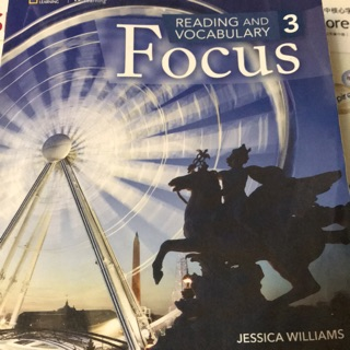 Focus reading and vocabulary 3